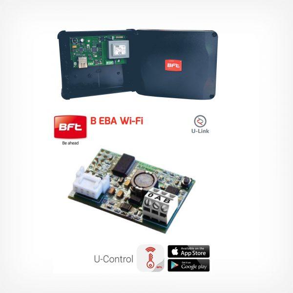 BFT EBA WIFI, telecomanda - compatibila cu functia U-link