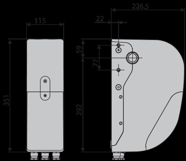 Dimensiuni BFT Argo G