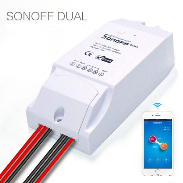 Switch wireless 2 canale - Sonoff