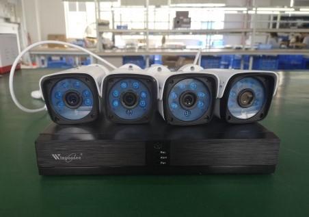 Sistem de supraveghere exterior POE Digital Winpossee WP-7104T FullHD 1080P