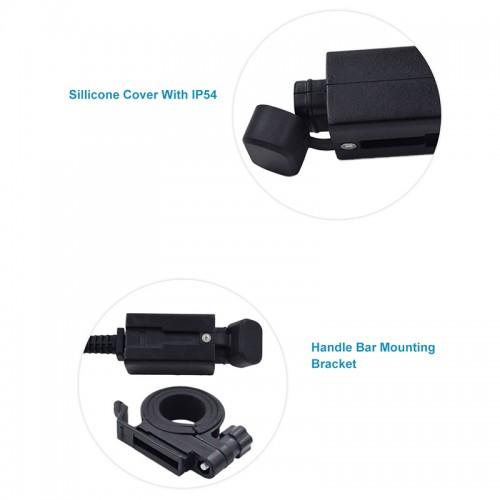 Priza moto Auto Road SAEU-5, DUAL USB, Fast Charge 3.1A 2