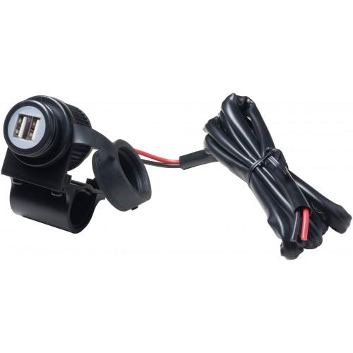 Priza moto Interphone cu port dublu USB 1