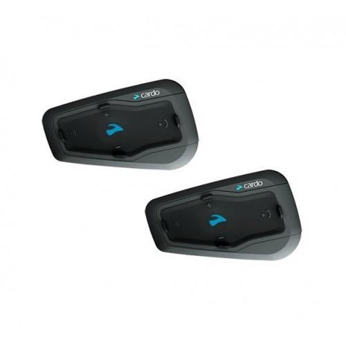 Sistem de comunicare moto Cardo Freecom 2 + Plus Dual Pack, 1