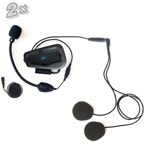 Sistem de comunicare moto Cardo Freecom 2 + Plus Dual Pack, 2