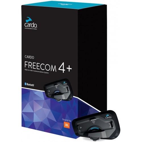 Sistem de comunicare moto Cardo Freecom 4 + Plus Single Pack 1