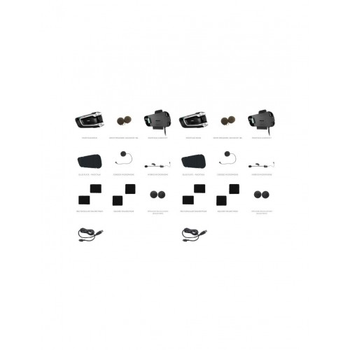 Sistem de comunicare moto Cardo PackTalk Bold Dual Pack 3