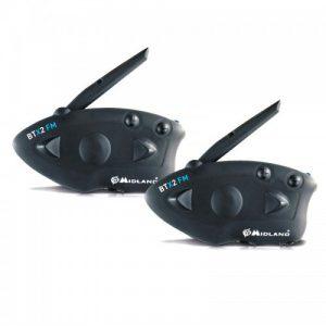 Sistem de comunicare moto Dual Midland BTX2 FM1