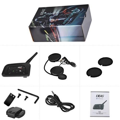 Sistem de comunicare moto EJEAS V6 Pro 6