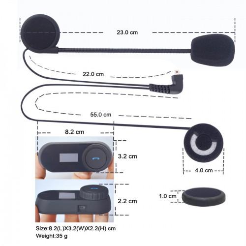 Sistem de comunicare moto Intercom FreedConn Tcom-SC 4