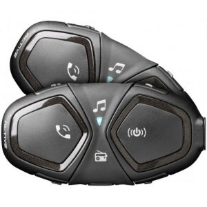 Sistem de comunicare moto Interphone Active Dual Pack FM 1