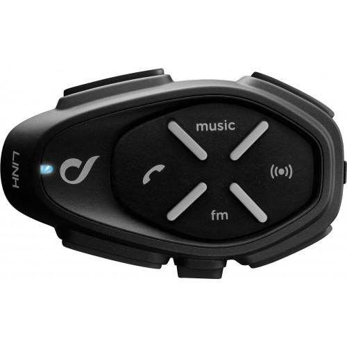 Sistem de comunicare moto Interphone Link Single Pack FM