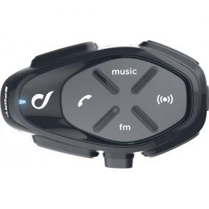 Sistem de comunicare moto Interphone Sport Single Pack FM