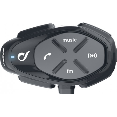 Sistem de comunicare moto Interphone Sport Single Pack FM