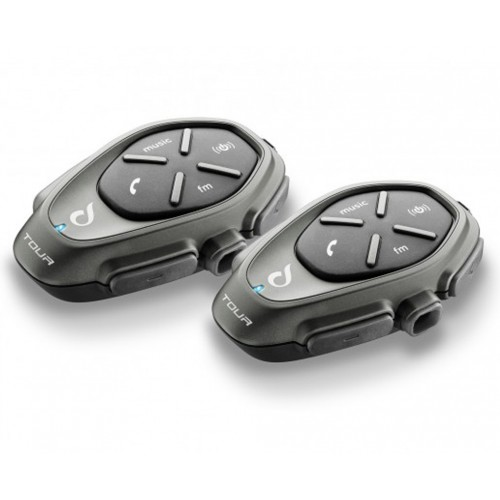 Sistem de comunicare moto Interphone Tour Dual Pack