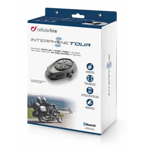 Sistem de comunicare moto Interphone Tour Single Pack 5