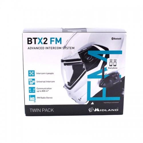 Sistem de comunicare moto Midland BTX2 FM 3