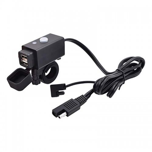 priza motoPriza moto Auto Road AR-0-181-01D, DUAL USB, 3.1 A